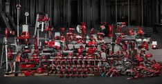 Milwaukee M18 FUELtm 12in. Dual Bevel Sliding Compound Miter Saw with ONE-KEY Kit — One Battery, Model# 2739-21HD Power Tool Batteries, Cordless Power Tools, Cordless Drill, Sliding Compound Miter Saw, Compound Mitre Saw, Milwaukee Tools, Milwaukee M18, Power Tool Set, Electric Power Tools