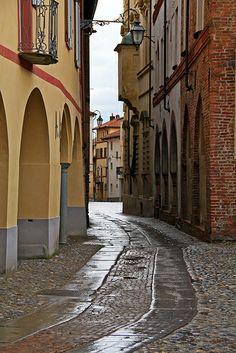 Antico borgo del Piazzo, Biella, Piedmont, Italy