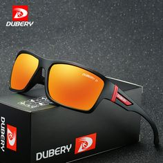 097c79ce165 DUBERY Polarized Sunglasses Men s Aviation Driving Shades Male Sun Glasses  For Men Safety 2017 Luxury Brand