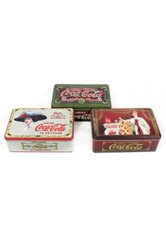 Vintage Cola Rectangle Tin 3a