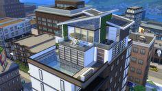 Sims 4 penthouse called Modern Penthouse ...origin ID: hettulik