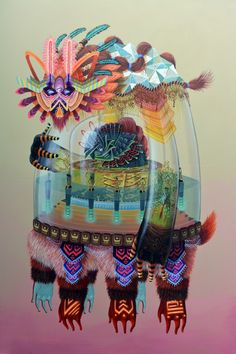 "Juxtapoz Magazine - Curiot ""Unknown Elements"" @ Thinkspace Gallery, Culver City"