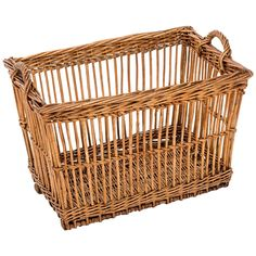 Turn-of-the-Century Wicker Vineyard Basket, Alsace, France, circa 1900 | From a unique collection of antique and modern bowls and baskets at https://www.1stdibs.com/furniture/decorative-objects/bowls-baskets/