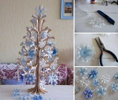 Christmas Decorations Out Of PET Bottles