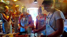 Mezzaluna- Italian Food Chopper use d during Italian  Cooking Class in #Chianti #Tuscany #Food #cooking #Italian #Italy