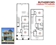 5 bedroom, 5.5 bath Rutherford