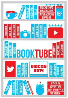 Booktube shelves!