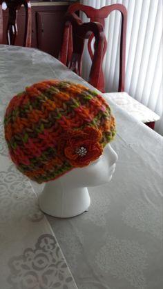 cristal flower hat by itsybitziAngel on Etsy