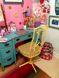 A Land of Nod inspired, 7 year old decorated, big girl room: Country 2 Coastal