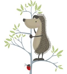 Curious Horace the Hedgehog from the popular Hedgehugs book!