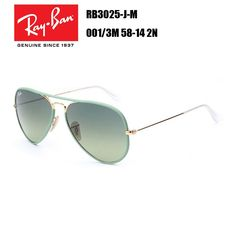 e047743c391 Ray-Ban AVIATOR Full Color RB3025-J-M 001 3M 58-14 2N