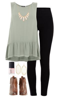 """i'll make this place your home"" by morganburleigh ❤ liked on Polyvore featuring Pieces, Mint Velvet, Hoss Intropia, Kendra Scott, NARS Cosmetics, Rivka Friedman, women's clothing, women, female and woman Women's cloting. See me!"