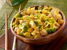 Recette - Curry de porc coco aux légumes