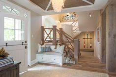 coastal foyer | Renae Keller Interior Design