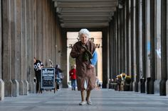 https://flic.kr/p/DCJPaN | shyness of old woman