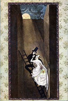 Kay Nielson. The Shepardess and the Chimney Sweep