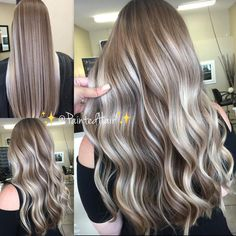 Excellent No Cost Balayage hair blonde process Concepts Summer's on how! In addition to our own views use better, lighter weight, much more gorgeous as we Hair Lights, Light Hair, Balayage Straight Hair, Balayage Blond, Best Ombre Hair, Golden Blonde Hair, Hair Color And Cut, Hair Painting, Stylish Hair