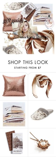 """Gift Guide: Stocking Stuffers"" by addorajako ❤ liked on Polyvore featuring HUGO, Natori, Vicky Davies and Valentino"