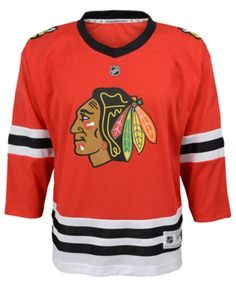 97a9843641a Authentic Nhl Apparel Chicago Blackhawks Blank Replica Jersey
