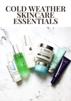 Cold Weather Skincare Essentials | Kate Loves Makeup
