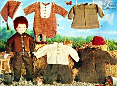 18 Inch Doll Clothes by Designer Linda Carr, Jackets, Shirt, Knickers, Vest, Cap, Pants, Vogue Sewing Pattern 7984 by TheGrannySquared2 on Etsy