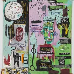 Happy birthday, Jean-Michel Basquiat. A poet, musician, and graffiti prodigy in late-1970s New York, Basquiat honed his signature painting style of obsessive scribbling, elusive symbols and diagrams, and mask-and-skull imagery by the time he was 20.