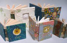 Linen Books Stitch That 2854 Handmade Journals, Handmade Books, Book Journal, Art Journals, Japanese Stab Binding, Bookbinding Ideas, Altered Book Art, Types Of Stitches, Book Binding