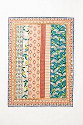 Hand- Embroidered Mali Rug