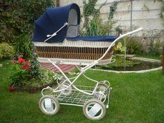 Vintage Pram, Vintage Dolls, Pram Stroller, Baby Strollers, Prams And Pushchairs, Baby Carriage, Baby Items, Retro, Children