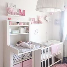 40 smart ideas ways to get your house ready for baby 29 – Home Design Ideas - Babyzimmer Ideen Baby Nursery Decor, Baby Bedroom, Baby Boy Rooms, Baby Cribs, Baby Decor, Girls Bedroom, Nursery Ideas, Simple Baby Nursery, Baby Girl Room Themes