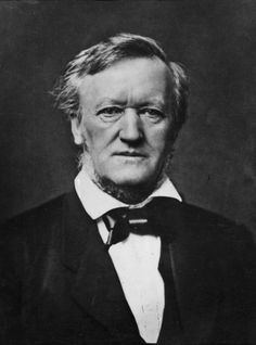 """Richard Wagner (1813–1883). German composer, and conductor. Wrote both the libretto and the music for each of his stage and revolutionised opera through his concept of the Gesamtkunstwerk (total work of art), by which he sought to synthesise the poetic, visual, musical and dramatic arts. He realised these ideas most fully in the first half of the cycle """"Der Ring des Nibelungen"""". His compositions are notable for their complex textures, rich harmonies and orchestration, and the use of…"""