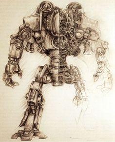adeptus mechanicus illustration - Google Search
