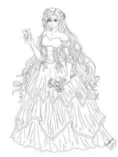 Euphemia-Lineart by Kari--Koboyashi on DeviantArt