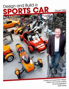 Book: design and build your own sports car