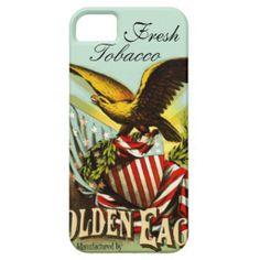 Golden Eagle Cigarette Tobacco iPhone 5/5s Case