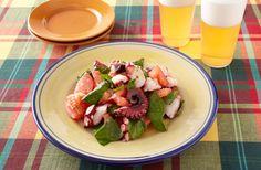 たことトマトのバジルバター炒め | お酒にピッタリ!おすすめレシピ | サッポロビール