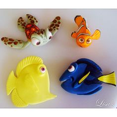 nemo dory bubble turtle ckae toppers lisas