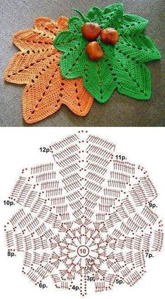 Great Absolutely Free Crochet coasters leaf Suggestions Original Pattern Here: Autumn Original Pattern Here: Autumn Motif Mandala Crochet, Crochet Leaf Patterns, Crochet Leaves, Crochet Fall, Crochet Motifs, Crochet Diagram, Crochet Stitch, Crochet Chart, Crochet Home
