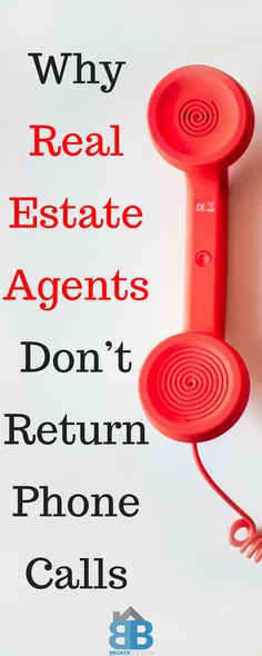 Why real estate agents don't call return phone calls. and how to be better at follow up. #realestate #realestateagent #Realtor