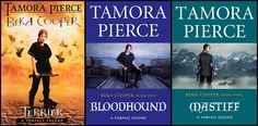 Beka Cooper series by Tamora Pierce. Back in Tortal's history, George Coopers great ancestor walked on the opposite side of the law. Loved it...just like I love every other one of her series.