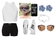 """Annabeth"" by zara-167 on Polyvore featuring LE3NO, adidas, Disney, Marni, Casetify, cool, Trendy and sporty"