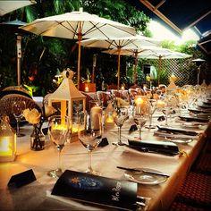 An intimate rehearsal dinner at a captains table. #margowedding #wedding #naples - @weddingtidbits- #webstagram