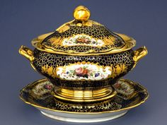 A porcelain tureen from the Imperial Porcelain Factory, Russia, circa 1860. Photos: © Giovanni Lundardi Photography, courtesy Bowers Museum
