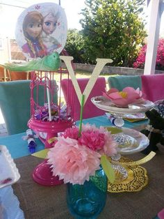 Frozen Vintage Party Theme Setup Birthday Party Ideas   Photo 3 of 26   Catch My Party
