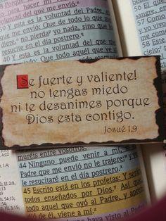 Josue 1:9 Se fuerte y valiente