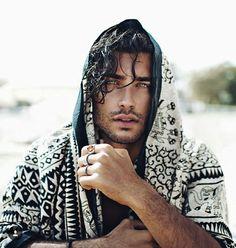 Toni Mahfud, Beautiful Men, Beautiful People, Wrath And The Dawn, Style Masculin, Male Models, Pretty People, Character Inspiration, Hair Inspiration