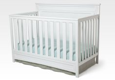 Cribs : Princeton 4-in-1 White Crib