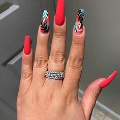 15 Color Changing Nail Inspirations Cool Nail Art Designs 2019 Creative Nail Designs for Short Nails to Create Unique Styles Hot Nails, Swag Nails, Hair And Nails, Summer Acrylic Nails, Best Acrylic Nails, Squoval Acrylic Nails, Pink Summer Nails, Coral Nails, Creative Nail Designs