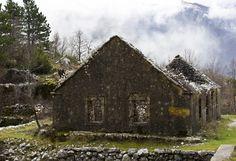 Ruins in Mount Lovcen