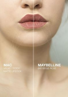 MAC velvet teddy matte lipstick - or maybelline 640 beige rose if it is matte Beauty Make-up, Beauty Dupes, Beauty Hacks, Natural Beauty, Make Up Dupes, Lipstick Colors, Lip Colors, Grey Lipstick, Lipstick Shades
